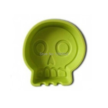 Novelty Design Cute Skull Lowest Price Ashtray For Decoration Office Lighters&Smoking Accessories(China)