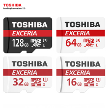 Original TOSHIBA Memory Card 16G 32G SDHC 64G 128G SDXC U3 Micro SD Card Class 10 UHS TF Cards Flash Microsd Max UP 90MB/s(China)