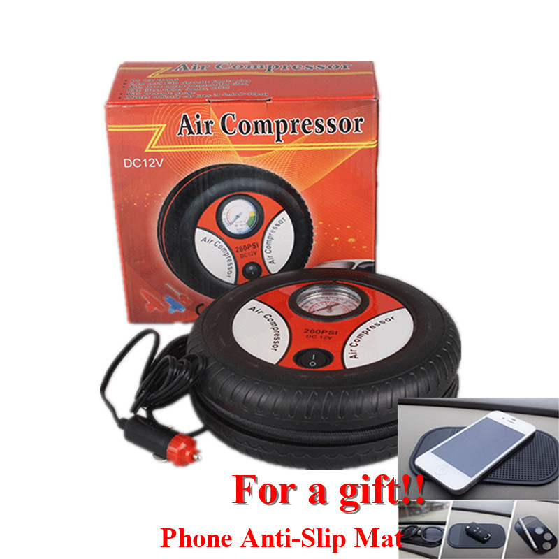 Portable Car Compressor Mini Car Air Pump Inflatable Motor Pump High Power Air Compressor Auto Boat Portable Auto Compressor