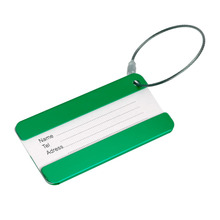 Hot Sell Aluminium Name Tel Labels Travel Luggage Tags Tool Kit Travel Luggage Baggage Tag Suitcase Identity Address 5 Colors