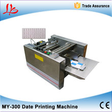 No tax, MY-300 expiry date printer, impress or solid-ink coding machine,box produce date printing machine