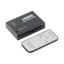 3 Switch High Definition 3 Port HDMI Switcher HDMI Splitter HDTV HD DVD 1080P Vedio Adaptor For PS3 DVD