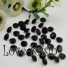 Free Shipping--1000pcs 4 Carat (10mm) Black Diamond Confetti Wedding Favor Supplies Table Scatter--New Arrivals