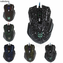 Nabolang Professional Wired Gaming Mouse USB 6D Gamer Mouse Hot Selling(China)