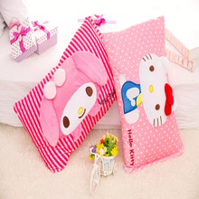 Melody melody hello kitty pillow washable pillow single outer sleeve leather pillow