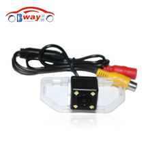 BW8147  China Post Air Mail Free Shipping 100% Waterproof 170 Degree Wide Angle Toyotai Camry 2012 Car Rear View Camera