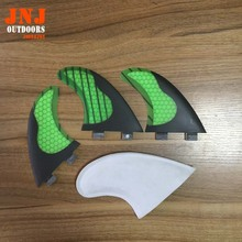 alibaba gold supplier strong honeycomb surfboard fin FCS G5 surfing fin with carbon fiber streath(China)