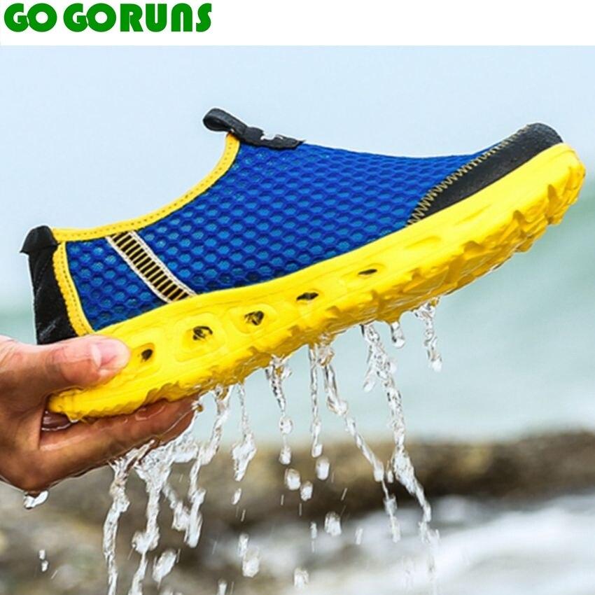 Outdoor Quick Drying Upstream Men Running Shoes Low Top Ultra light Running shoes Men Water Trekking Running Shoes Sneakers 25h8<br><br>Aliexpress