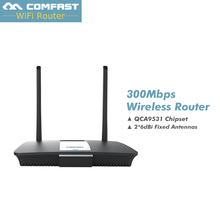 300Mbps industrial Comfast  CF-WR610N wireless wifi router with dual antenna QCA9531 chipset 4 RJ45 LAN 1 WAN