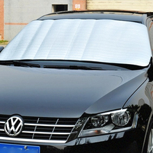 Front Window Sunshade Foldable Sun Reflective Shade Car Windshield Durable Windshield Film UV Protect Car Styling #iCarmo