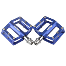1 Pair Aluminum Extruted Pedals for Road Bike MTB BMX DH Platform Outdoor Bike Bicycle Cycling Sealed Bearing Foot Pegs BHU2(China)