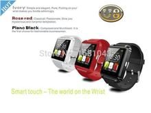 Hot! New 2015 U8 SmartWatch Bluetooth Smart Watch for Samsung HTC Huawei Android Phone Smartphones Back to product details