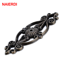 NAIERDI Retro Zinc Alloy Bronze Handles Cabinet Door Drawer Antique Knobs Cupboard Wood Jewerly Box Pull For Furniture Hardware