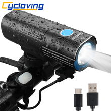 Cycloving Bike light Bicycle light headlight 6modes remote switch 4500mah mobile Power bank IPX6 waterproof bike accessores(China)