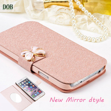 Buy Fundas Apple iphone 7 Wallet Case Leather Cover iphone 7 iPhone7 Flip Phone Cases Coque Mirror Stand Mobile Phone Bags for $3.30 in AliExpress store