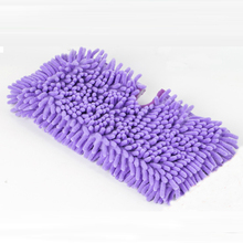 1PCS Purple Mop Covers Floor Dust Cleaning Multifunction Mops Floor Cleaning Pad Household Dust Mop Head Replacement Clean Cover