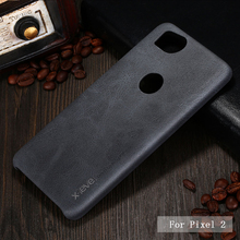 X-Level Luxury Retro PU Leather Case for Google Pixel 2 Back Case Cover for Google Pixel 2 XL Vintage Case Pixel 2XL phone Capa