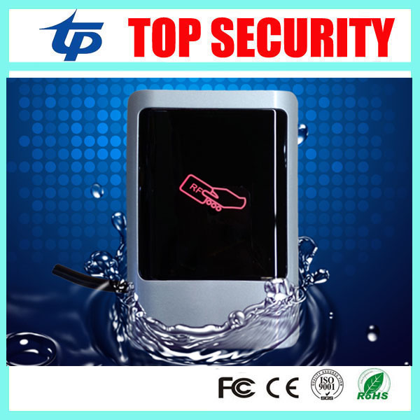 Good quality IP68 waterproof RFID card reader for access control system weigand26/34 smart 125KHZ RFID card access reader<br>