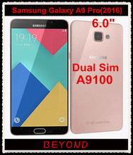 "Samsung Galaxy A9 Pro 2016 Duos Original Unlocked 4G LTE Dual Sim Mobile Phone A9100 Octa Core RAM 4GB ROM 32GB 6.0"" 16MP(China)"