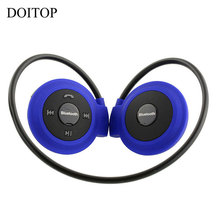 Buy DOITOP Mini 503 Bluetooth Headphone Wireless Stereo Headset Sport Music Bass Earphone Earpiece Support TF Card FM Radio #4 for $6.59 in AliExpress store