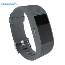 Ouhaobin High Definition Ultra Clear Screen Protector+Wristband For Fitbit Charge 2