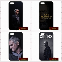 Jose Mourinho Soccer coach Phone Cases Cover For iPhone 4 4S 5 5S 5C SE 6 6S 7 Plus 4.7 5.5    UJ0150