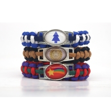 Buy Classic Cartoon Gravity Falls Paracord Bracelets Wheel Cypher Dipper Mabel Logo Rope Chain Handmade Jewelry Unisex Fans for $2.79 in AliExpress store