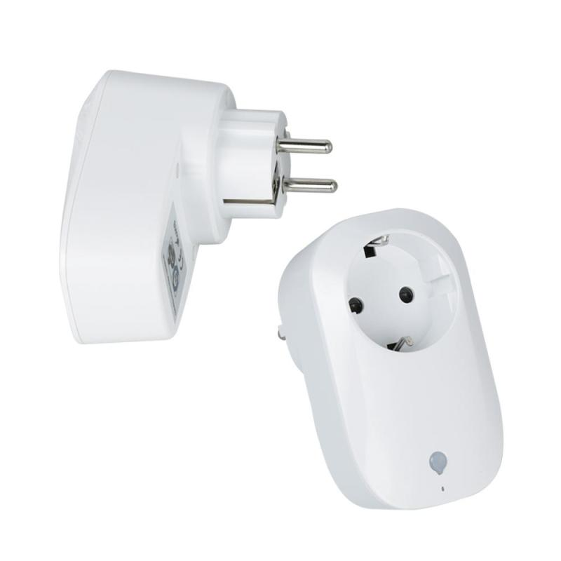 2pcs Wireless Smart 2.4G WiFi Socket Switch EU Plug Remote Control Socket Outlet Timing Switch For Smart Home Room Automation<br>
