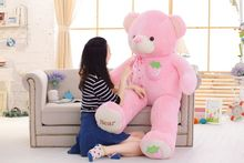 stuffed toy huge 160cm pink strawberry fruit teddy Bear plush toy bear doll hugging pillow Christmas gift,b0790