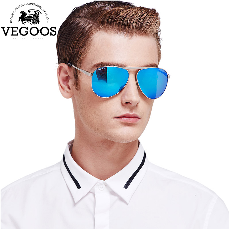 VEOOGS High Quality New Brand Designer Stainless Steel Cool Polarized Sports Men Pilot Sunglasses UV Protect Sun Glasses #3078<br><br>Aliexpress