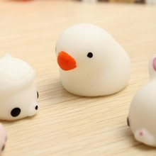 Soft Lovely Mochi Fat Pigeons Squeeze Cute Healing Toy Kawaii Collection Stress Reliever Gift Decor Gift For Children Adult