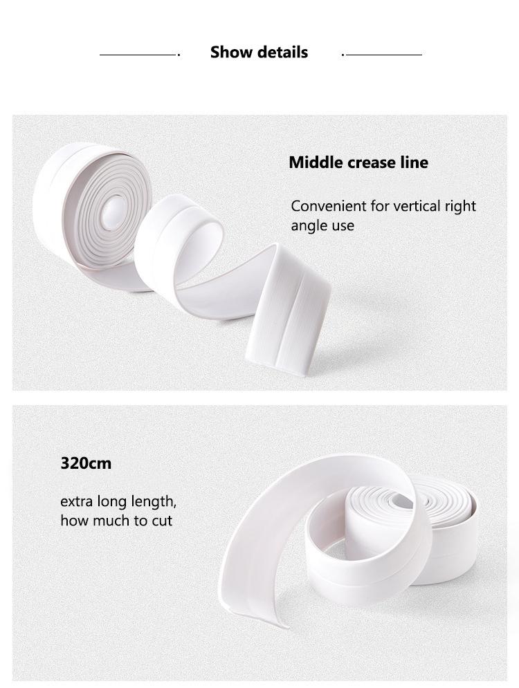 Waterproof tape details