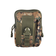 Unisex Outdoor Sport Tactical Belt Loops Waist Bag Molle Military Waist Fanny Pack Smartphone Mobile Phone Case Tool Bag Pack