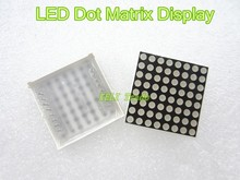 LED Dot Matrix Display 16pin 8x8 3mm Red Common Anode For Arduiino AVR 1588BS