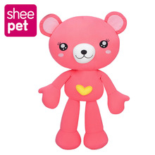 Sheepet Love Bear Soft Stuffed Plush Toy Doll brinquedo 60cm and 18cm toys for children Gift Mobile phone holder(China)