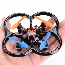 U207 Mini RC Dron Quadcopter Remote Control Helicopter Quadrocopter Flying UFO Saucer Drone VS CX-10a cx-10 V272 X12 H107