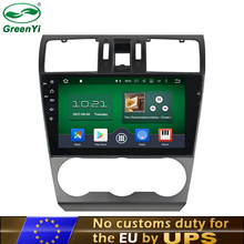"GreenYi RAM 2GB HD 9"" Android 6.0 7.1 Car DVD Player Fit For Subaru Forester 2014-2016 Stereo Car PC 4G GPS Navi EU Free Tax(China)"