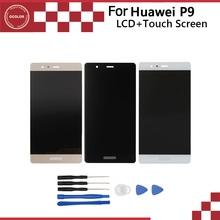 Original For Huawei P9 LCD Display and Touch Screen Assembly Perfect Repair Part 5.2 inch For Huawei P9 Free Shipping+Tools