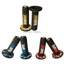 Pro taper Motorcycle High Quality Protaper Dirt Pit Bike Motocyle Handlebar Rubber Gel Hand Grips Brake Handle Grip fat bike
