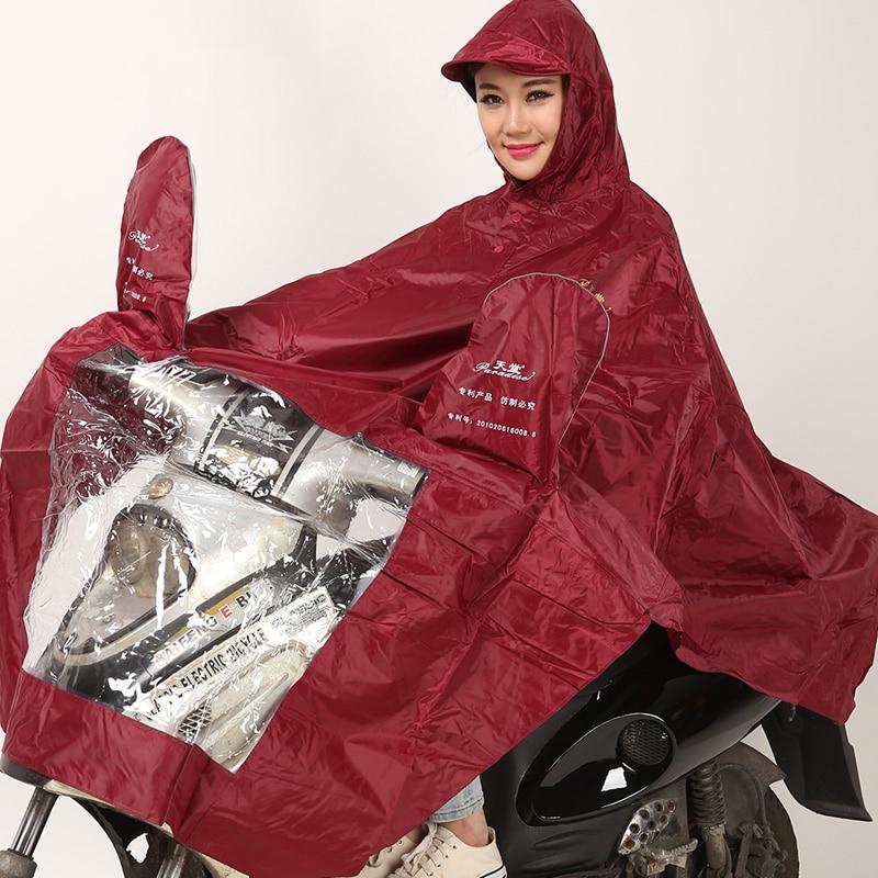 Women Men Raincoat Waterproof Motorcycle Rainwrear Chubasqueros Regenmantel Coat Impermeable Poncho Raincoat Clothing QQG260