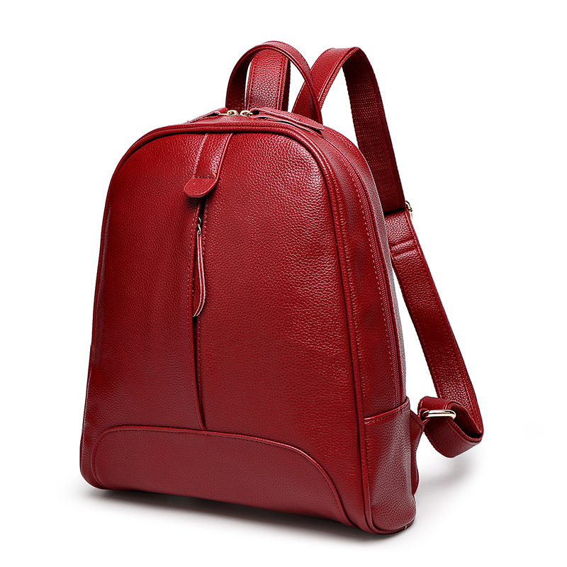 2017 new Korean female casual fashion minimalist shoulder bag lady backpack College Wind women travel bagsdual-use<br><br>Aliexpress