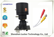 Luckertech Analog Manual Zoom 2.8-12mm Camera Module Board with Lens 600TVL with Cable IR CVBS BNC Video CCTV Security(China)