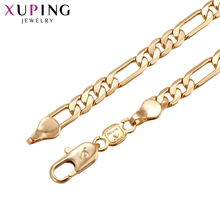 11.11 Deals Xuping Fashion Upscale Necklace Gold Color Environmental Copper for Women Thanksgiving Jewelry Gift S71,4-43672(China)
