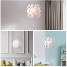 Hyatt Nordic chandelier modern simple bedroom restaurant IKEA personality clothing store children room decorative lamps(China)