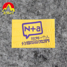 Free Design Customized 2000pcs/lot High density woven labels for Children fashion clothing/embroidered tags/ main labels SL056(China)