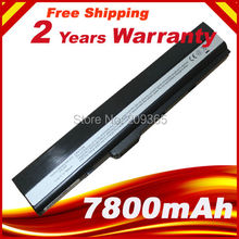 7800mah Laptop battery for ASUS X42 X42D X42E X42F X42J X42N X52 X52D X52F X52J X52N X52F X5I X67 X8C(China)