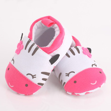 Baby Shoes Infant Toddler Crib Shoes Soft Sole Cat Print  Kid Girls Boy Baby Cotton First Walkers Shoes 0-18M  #LD789