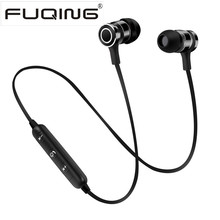 Buy New FuQing S6 Metal Sports Bluetooth Headphone SweatProof Earphone Magnetic Earpiece Stereo Wireless Headset Mobile Phone for $10.70 in AliExpress store