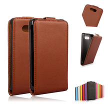 820 Good Quality Cow Split Genuine Leather Case Vertical Flip Hard Plastic Cover For Microsoft Nokia Lumia 820 RM-878 Phone Case