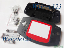 Repair Shell Cover Kits Complete Housing for Gameboy Advance for Nintendo GBA Console with Colorful Screen Panel
